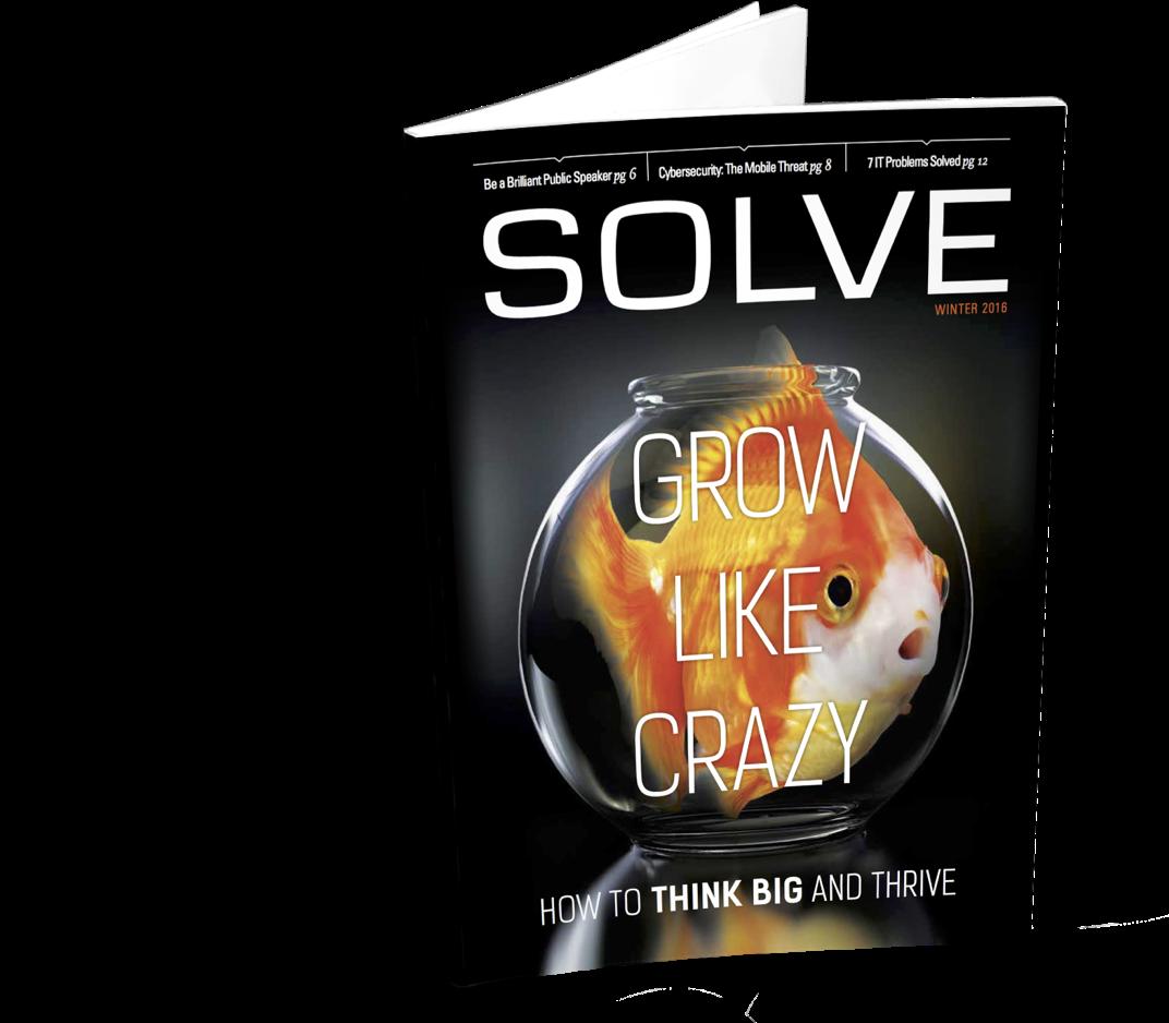 Solve Magazine Cover by RSL Media