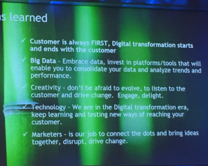 BMA's Masters of B2B Marketing Conference - Some of Dell's key to success